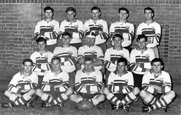 Sale 8754A - Lot 83 - Eastwood Rugby Union Team, 1966 - 25 x 31cm