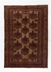 Sale 8760C - Lot 43 - A Persian Balouchi Village Rug, Wool On Cotton Foundation, 314 x 222cm