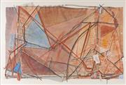 Sale 8773 - Lot 557 - Tim Storrier (1949 - ) - Sunset in Mombasa, 1980 100.5 x 151cm