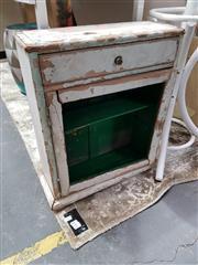 Sale 8777 - Lot 1090 - Wall Mount Rustic Medicine Cabinet
