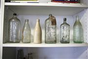 Sale 8825A - Lot 25 - A collection of assorted glass bottles