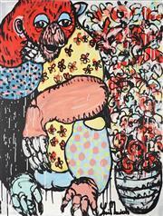 Sale 8880A - Lot 5028 - Yosi Messiah (1964 - ) - Monkey Play 102 x 76 cm