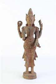 Sale 8887 - Lot 87 - A Thai Bronze Buddha (H 40cm)