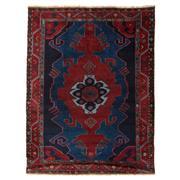 Sale 9019C - Lot 37 - Antique Caucasian Kazak Rug, Circa 1950,173x229cm, Handspun Wool