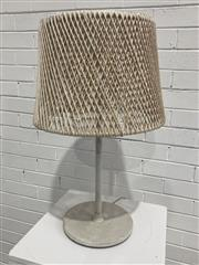 Sale 9063 - Lot 1033 - Modern Metal Table Lamp (h:68cm)