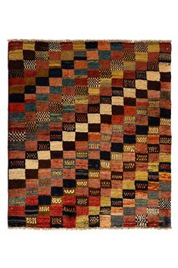 Sale 9149C - Lot 4 - PERSIAN VINTAGE GABBEH, 130X150cm