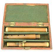 Sale 8372 - Lot 32 - D'Almaine & Co. Ivory & Boxwood Flute
