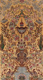 Sale 8715C - Lot 161 - A Persian Isfahan Very Fine Silk And Wool Pile, 164 x 106cm