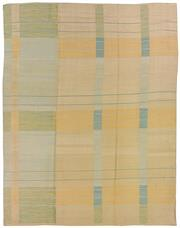 Sale 8725C - Lot 51 - An Afghan Deco Inspired Flatweave, Hand-knotted Wool, 318x258cm, RRP $4,290