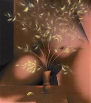 Sale 8787A - Lot 5031 - Peter Powditch (1942 - ) - Sun Torso 130 (Bunch), 1972 137.5 x 122cm