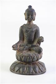 Sale 8894 - Lot 360 - Small Chinese Buddha H: 14cm