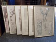Sale 8417T - Lot 2091 - 6 Framed Prints