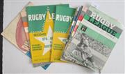 Sale 8418S - Lot 11 - RUGBY LEAGUE NEWS 1963 Vol 44 Nos. 1, 5 & 6 (Country v Sydney), 9 (NSW v NZ), 12, 13, 15 (Australia v New Zealand Third Test), 17, 1...