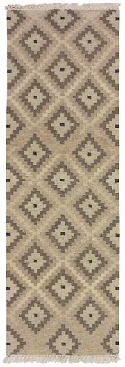 Sale 8725C - Lot 52 - An Indian Flatweave Runner, Hand-knotted Wool, 250x80cm, RRP $850