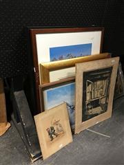 Sale 8750 - Lot 2065 - 7 Various Artworks & Prints