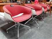 Sale 8801 - Lot 1056 - Set of Four B&B Italia Tub Chairs