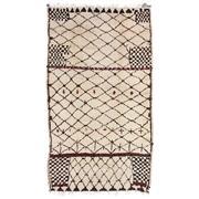 Sale 8830C - Lot 15 - A Moroccan Vintage Berber in Handspun Wool 300x160 cm