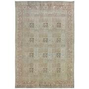 Sale 8915C - Lot 49 - Iran Vintage Overdye Moud Rug, 287x195cm, Handspun Wool