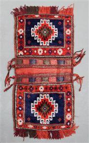 Sale 8499C - Lot 24 - Persian Saddle Bag 130cm x 57cm