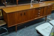Sale 8511 - Lot 1043 - Quality G-Plan Teak Sideboard