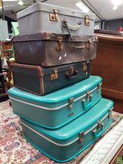 Sale 8589 - Lot 1099 - Collection of Vintage Suitcases
