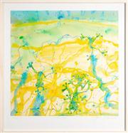 Sale 8630A - Lot 36 - John Olsen (1928 - ) - Tree frogs 65 x 66cm, framed size 82 x 79cm