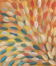 Sale 8652A - Lot 5022 - Gloria Petyarre (c1945 - ) - Bush Medicine Leaves 95 x 80cm
