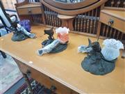 Sale 8676 - Lot 1164 - Set of Three Sea Life Table Lamps