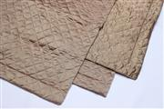 Sale 8690A - Lot 5024 - Set of (3) Thai Silk Quilted European Cushion Covers - Private Donor