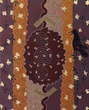 Sale 8787A - Lot 5032 - Clifford Possum Tjapaltjarri (c1932 - 2002) - Arinkarakaraka, 1983 100.5 x 80cm