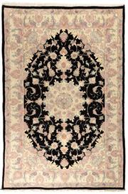 Sale 8790C - Lot 82 - A Persian Tabriz Fine Wool And Silk Inlaid, 238 x 157cm