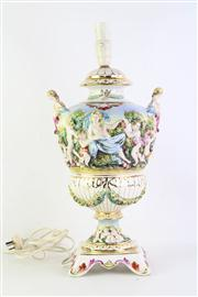 Sale 8818 - Lot 261 - Capodimonte Table Lamp