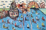 Sale 8903A - Lot 5001 - Yosi Messiah (1964 - ) - Magic Harbour 122 x 178 cm