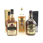 Sale 8911W - Lot 867 - 3x Old Blended Scotch Whiskies - KG IV, Chivas Regal 12YO & Whiite Heather Special Reserve