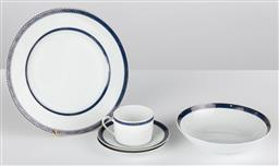 Sale 9255H - Lot 5 - A small quantity of Christofle Talisman in bleu;