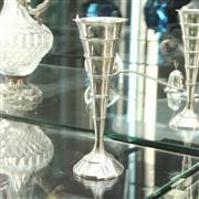 Sale 8304 - Lot 11 - European Art Deco Silver Vase