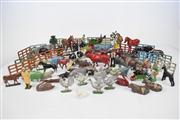 Sale 8381 - Lot 134 - Lead Animal Figures