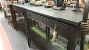 Sale 8390 - Lot 1543 - Pair of Painted Side Tables