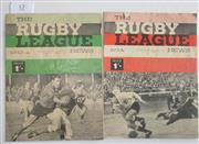 Sale 8418S - Lot 13 - RUGBY LEAGUE NEWS 1965 Vol 46 Nos. 24 and 25