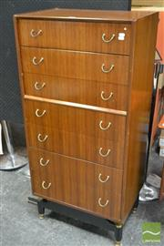 Sale 8511 - Lot 1003 - Early G-Plan Tola Tallboy Chest