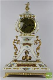 Sale 8512 - Lot 54 - Decorative Ceramic Clock
