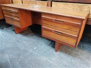 Sale 8839 - Lot 1048 - William Laurence of Nottingham Teak Dressing Table