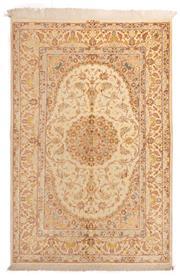 Sale 8715C - Lot 136 - A Persian Very Fine Qom, 100% Pure Silk On Silk , 204 x 135cm