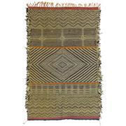 Sale 8830C - Lot 17 - A Moroccan Vintage Berber Kilim in Handspun Wool 165x100 cm