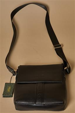Sale 9093F - Lot 96 - A Giorgio Armani Black Man Shoulder Bag New with Tags With Authentication Certificate