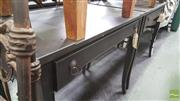 Sale 8390 - Lot 1531 - Pair of Painted Side Tables