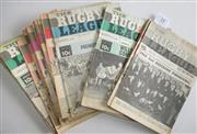 Sale 8418S - Lot 14 - RUGBY LEAGUE NEWS 1969 Vol 50 No. 2 (Feb), 3 (Wills Cup), 4 (Wills Cup), 5 (Wills Cup), 6 (Wills Cup, 7 (Wills Cup), 8 (Wills Cup Fi...