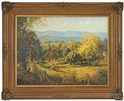 Sale 8443 - Lot 571 - John Allcot (1888 - 1973) - Autumn Countryscape 43 x 58.5cm