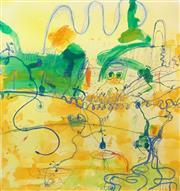 Sale 8451E - Lot 5009 - John Olsen (1928 - ) - Frog Dance 85 x 80cm (frame size: 107 x 98cm)