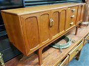 Sale 8782 - Lot 1023 - G Plan Teak Sideboard with 3 Drawers, 2 Doors and Drop Front Section